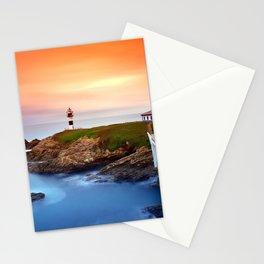 Idyllic view on seashore of Pancha island, Spain Stationery Cards