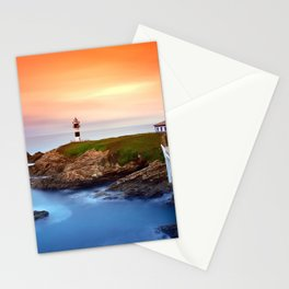 Idyllic view on seashore of Pancha island, Spain Stationery Cards