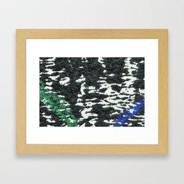 Composition Cool Framed Art Print