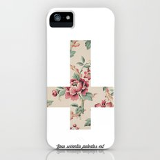 Flower Cross Slim Case iPhone (5, 5s)