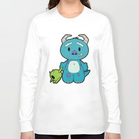 monster inc Long Sleeve T-shirts featuring Hello Monster by Pimator24