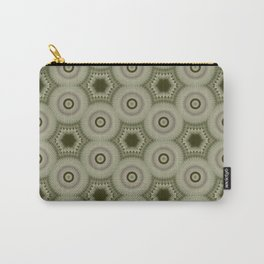 Fractal Cogs n Wheels in CMR02 Carry-All Pouch