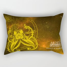 Sagittarius-Ardent, Optimistic, Spontaneous Rectangular Pillow