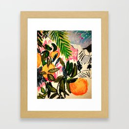 Oranges Framed Art Print