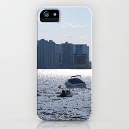 Marinas Of The World (Pt. 4 - Manhattan, New York) iPhone Case