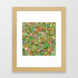 Bubble Culture Framed Art Print