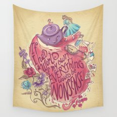 Lewis Carroll Wall Tapestry
