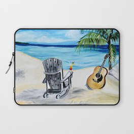 Beach Time with Martin Laptop Sleeve