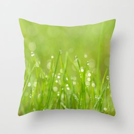 Splendor In The Grass... Throw Pillow
