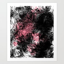 Abstract X 0.1 Art Print