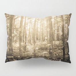 Vintage Sepia Fairy Forest Pillow Sham