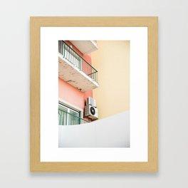 balcony, Cascais Framed Art Print
