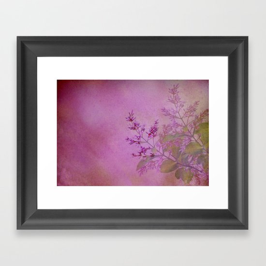 La bellezza dei fiori Framed Art Print