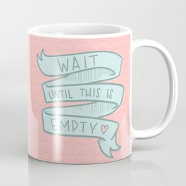 Morning Rules Coffee Mug