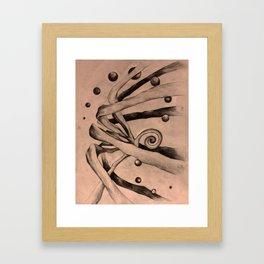 Something Waits Framed Art Print