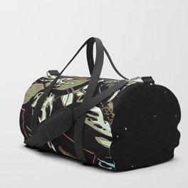 Space Guitar Player Duffle Bag