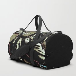 Space Guitar Player Duffle Bag