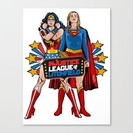 InJustice League of Litchfield Canvas Print