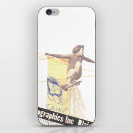 """lift-off"" iPhone Skin"