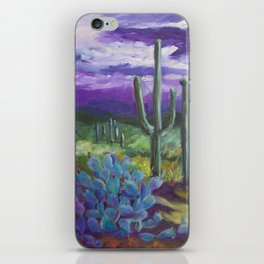 Dusk in the Desert iPhone Skin