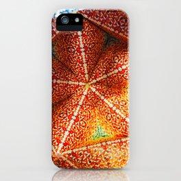 Fire Origami iPhone Case