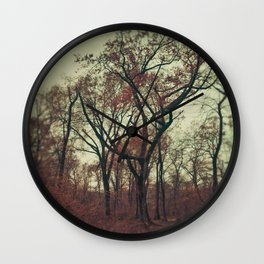 In Center  Wall Clock