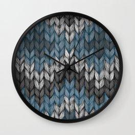 knit3 Wall Clock