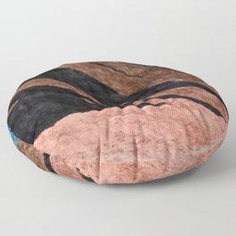 Dark Grace [2]: an abstract watercolor by Alyssa Hamilton Art Floor Pillow