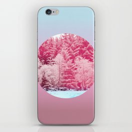 Candy pine trees lens iPhone Skin