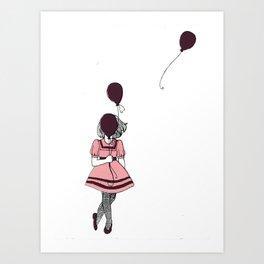 Going, Going, Gone Art Print