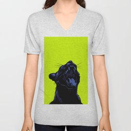 The Black Panther Unisex V-Neck