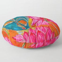 The Blue Buddha Floor Pillow