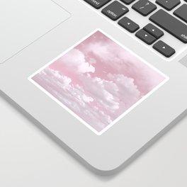 Clouds in a Pink Sky Sticker
