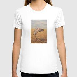 Sandhill Crane Promenade T-shirt