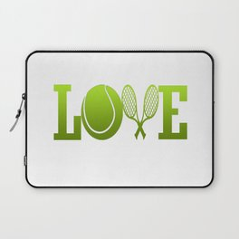 LOVE TENNIS Laptop Sleeve