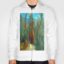 Smoke in the forest Hoody