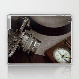 Leica and Panama hat Laptop & iPad Skin