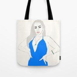 Miss Monster Tote Bag