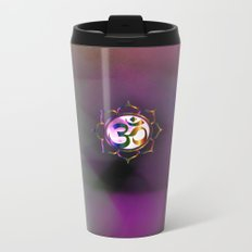 Space Om Metal Travel Mug