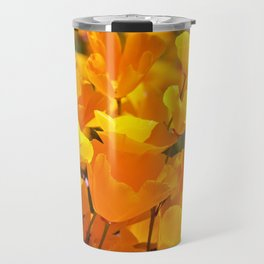 Orgasmic Poppies by Reay of Light Photography Travel Mug