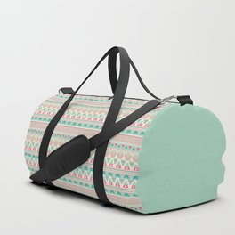 Ethnic , ornament , tribal , pastel Duffle Bag
