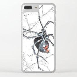 Widow Clear iPhone Case