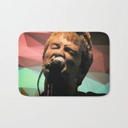 Thom Yorke | Radiohead | Creep | Polygon Art Bath Mat