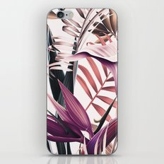 Magenta tropical iPhone & iPod Skin