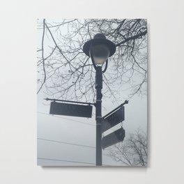 Maplewood - Sign post Metal Print