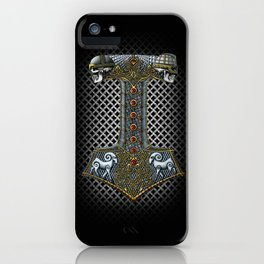 Tribute to Thor iPhone Case