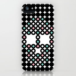 Retro Skull #4 iPhone Case