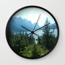 Mountains, Too Wall Clock