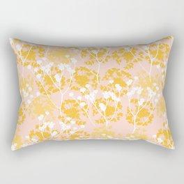 Seeds in yellow Rectangular Pillow