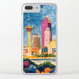 San Antonio Celebration Clear iPhone Case